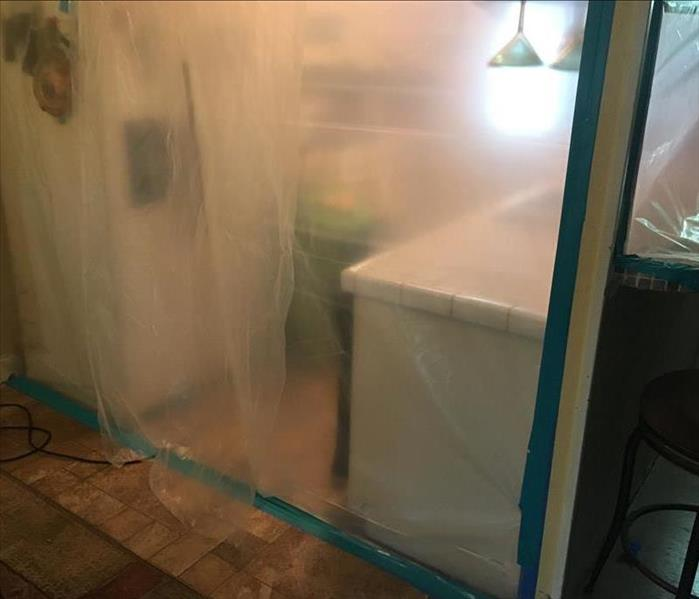 Mold Found Below Kitchen Sink in Sugar Land, Texas Before