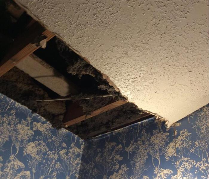 Water Damage in Sugar Land, Texas Before