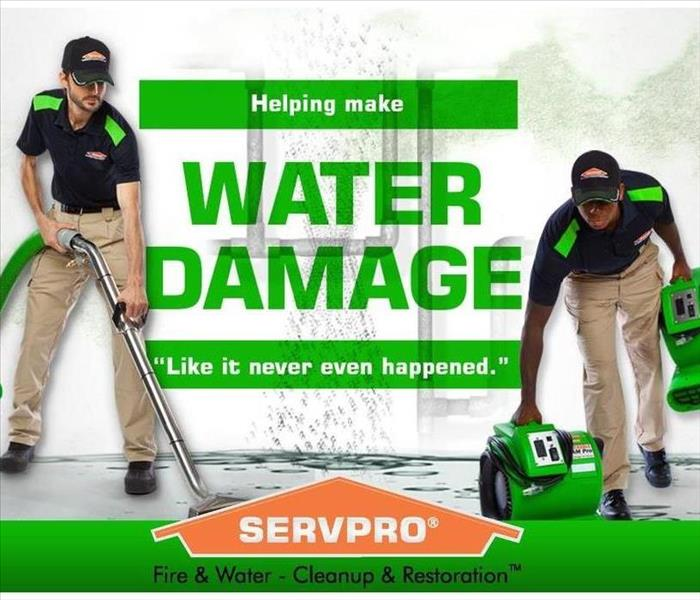 SERVPRO employees working